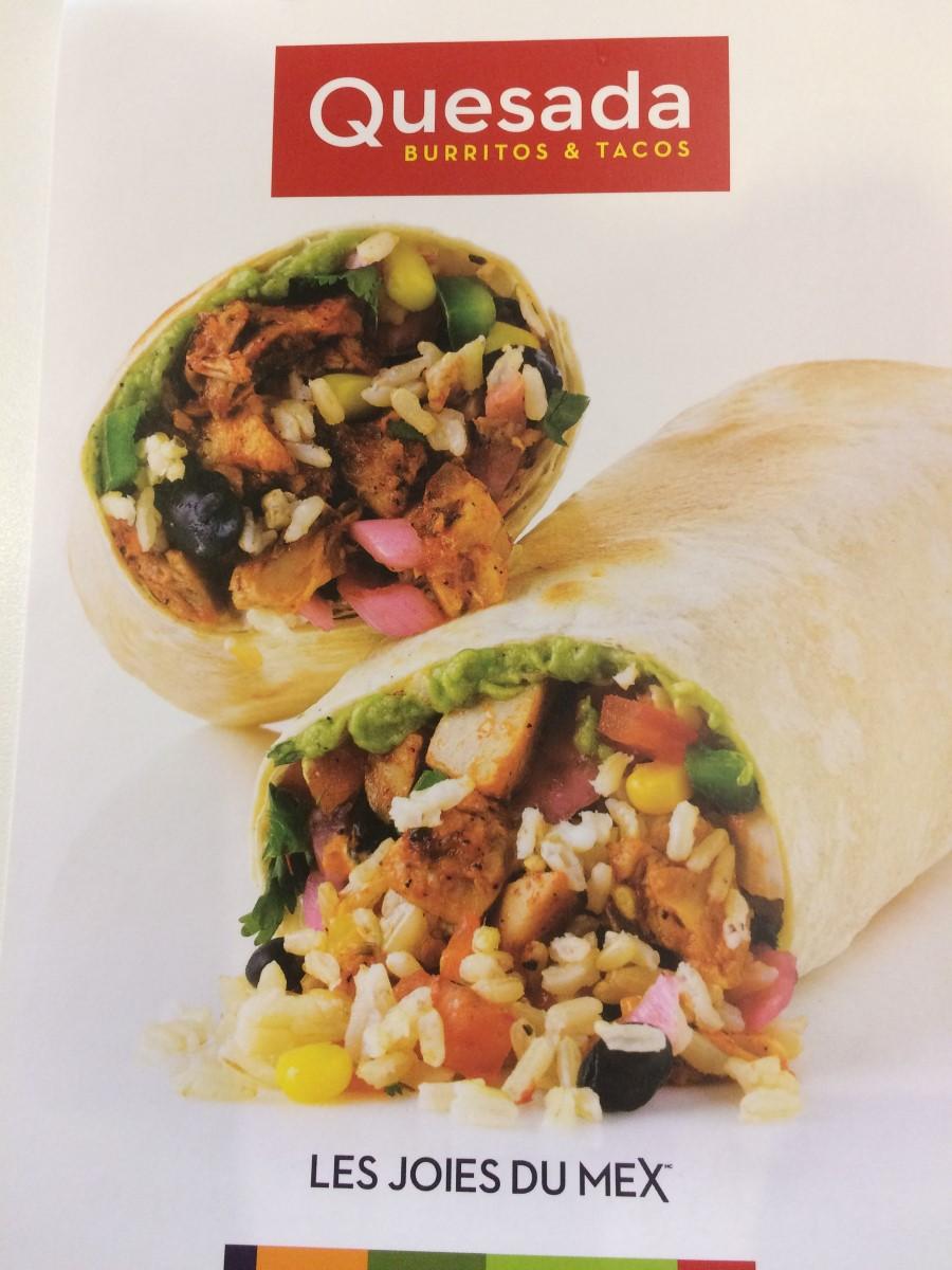 Burrito rabais etudiant